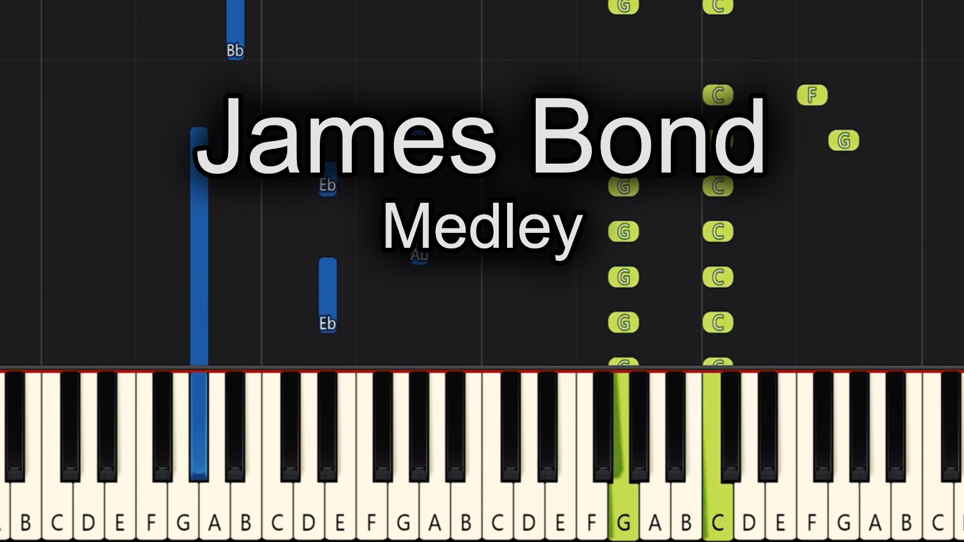 James Bond – Medley – Advanced