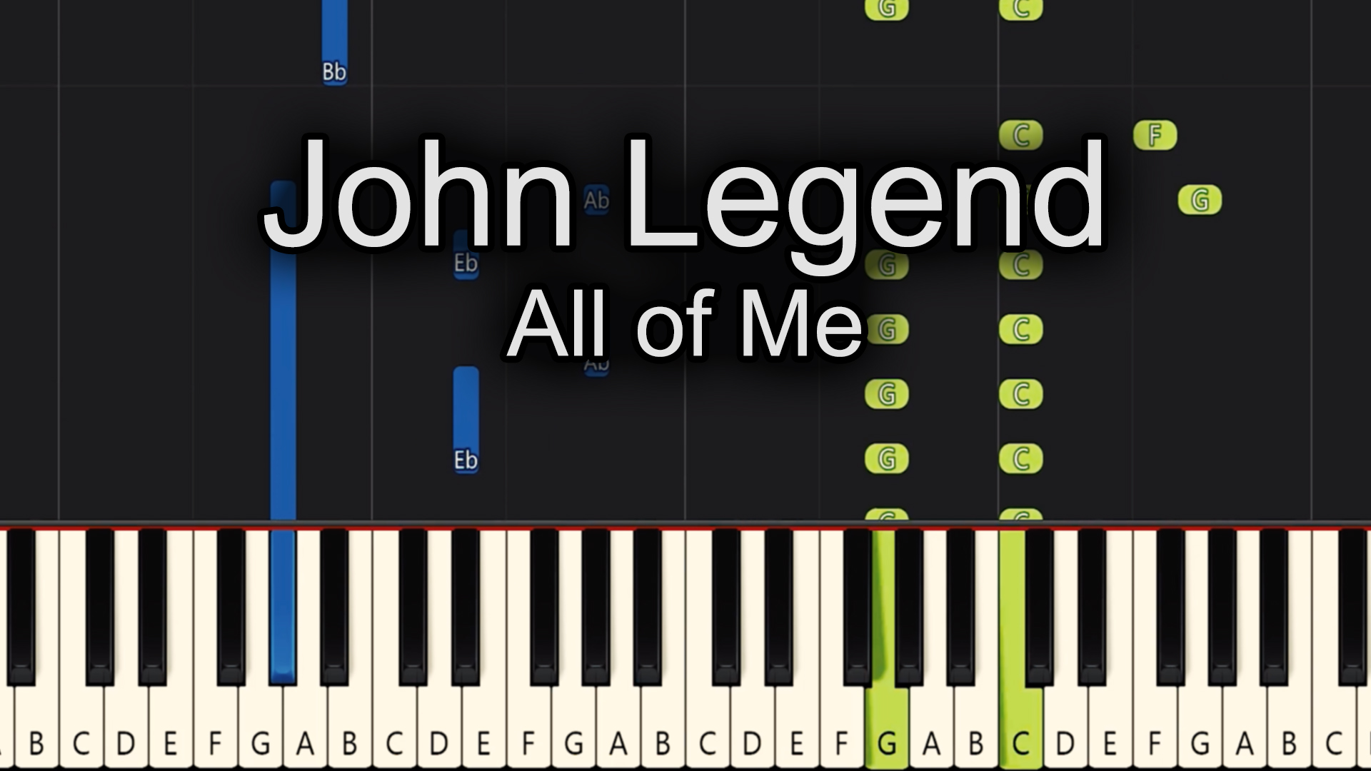 John Legend – All Of Me – Easy