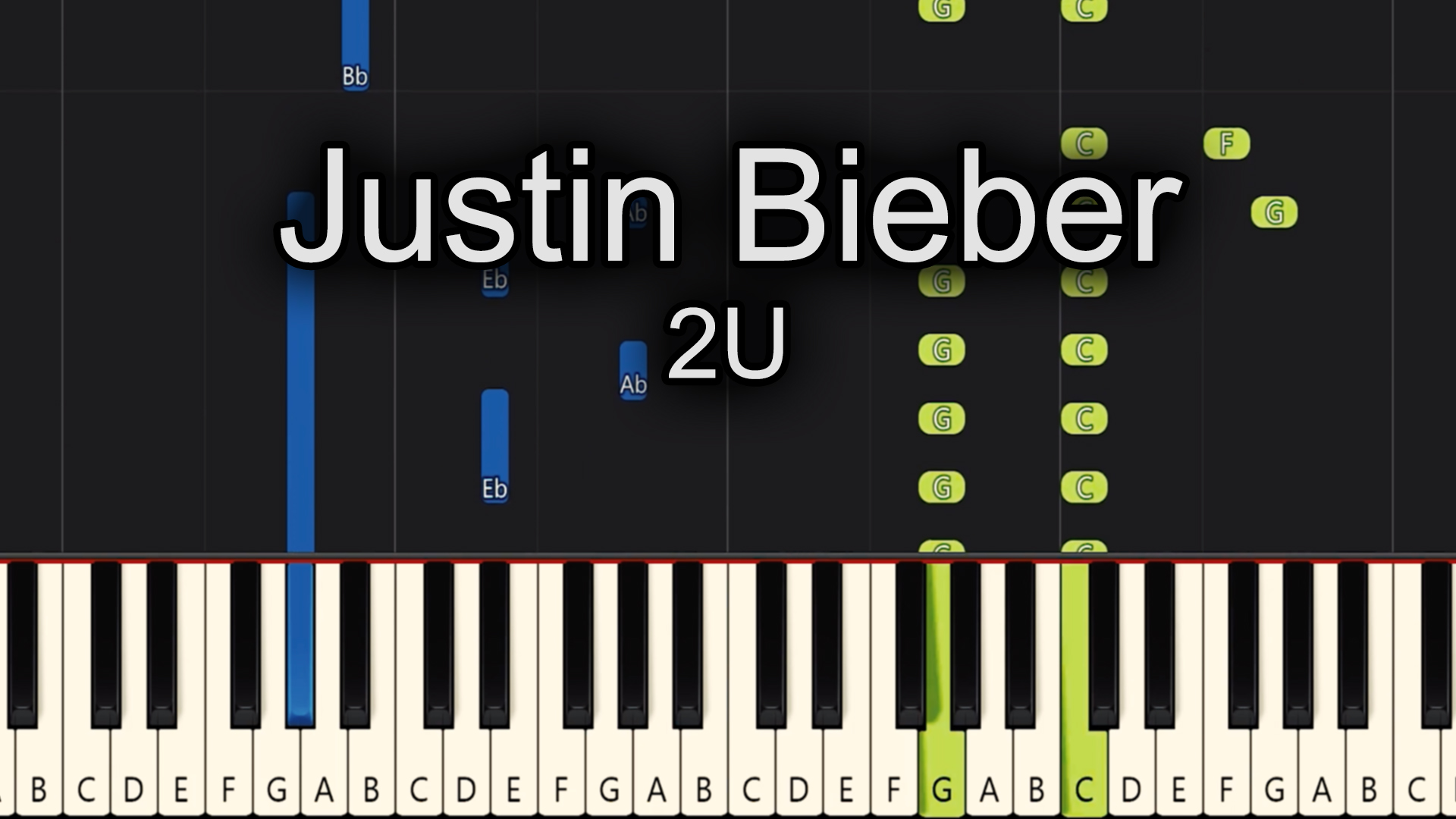 Justin Bieber – 2U – Advanced