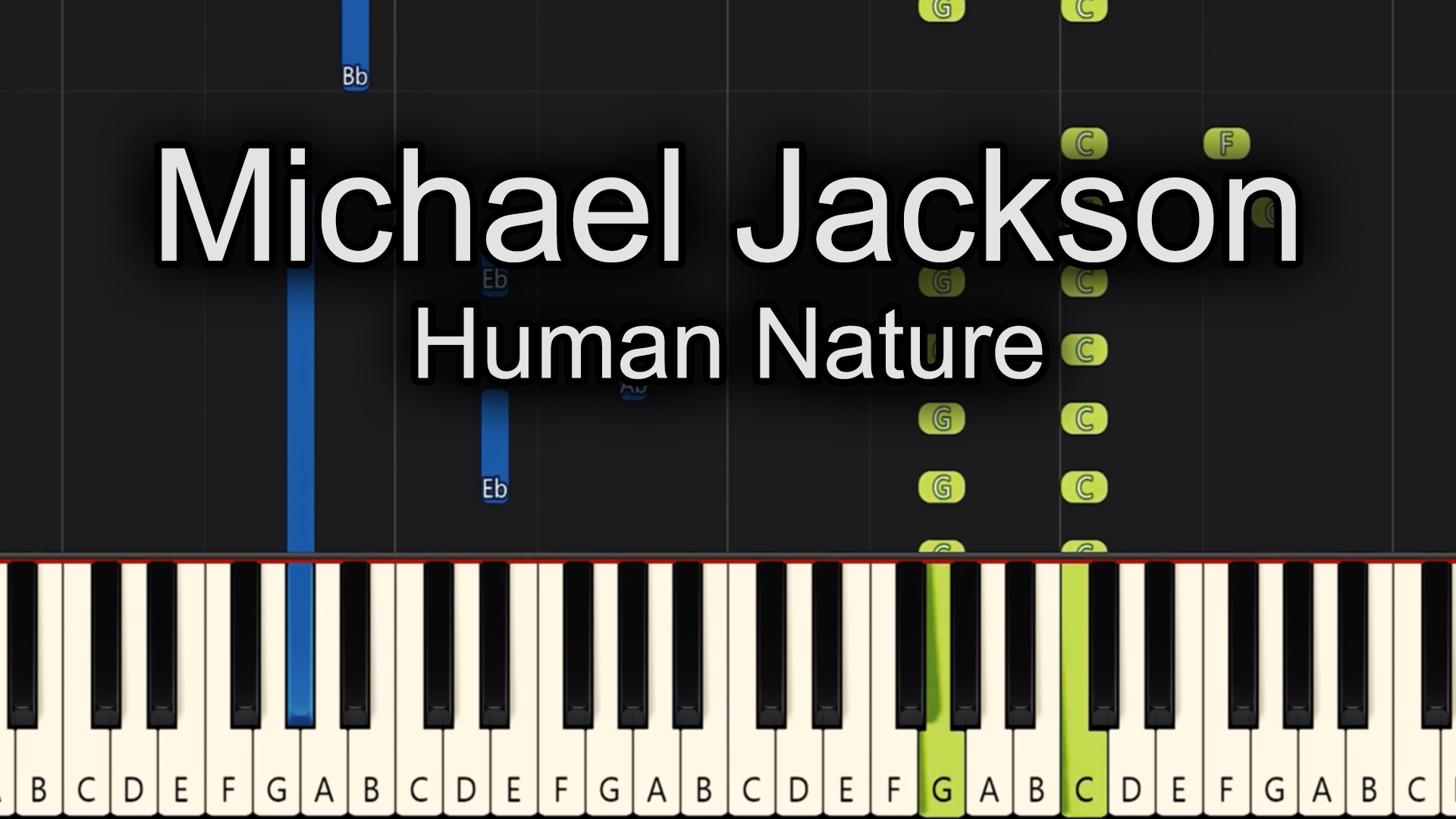 Michael Jackson – Human Nature – Advanced