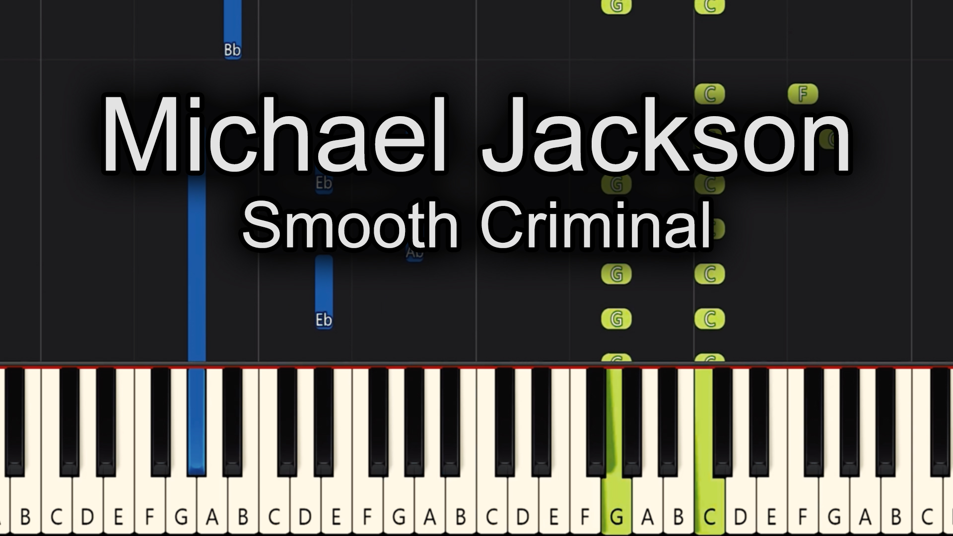 Michael Jackson – Smooth Criminal – Advanced