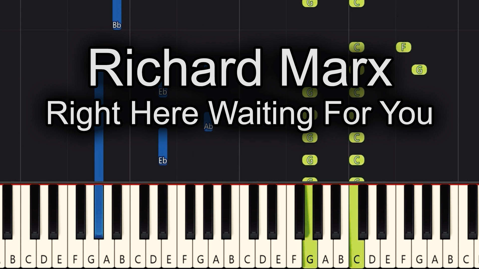 Richard Marx – Right Here Waiting For You – Advanced