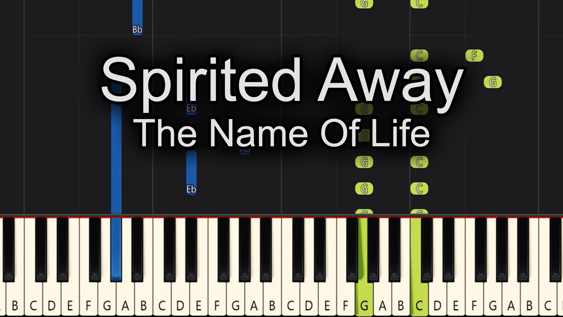 Spirited Away – The Name Of Life – Advanced