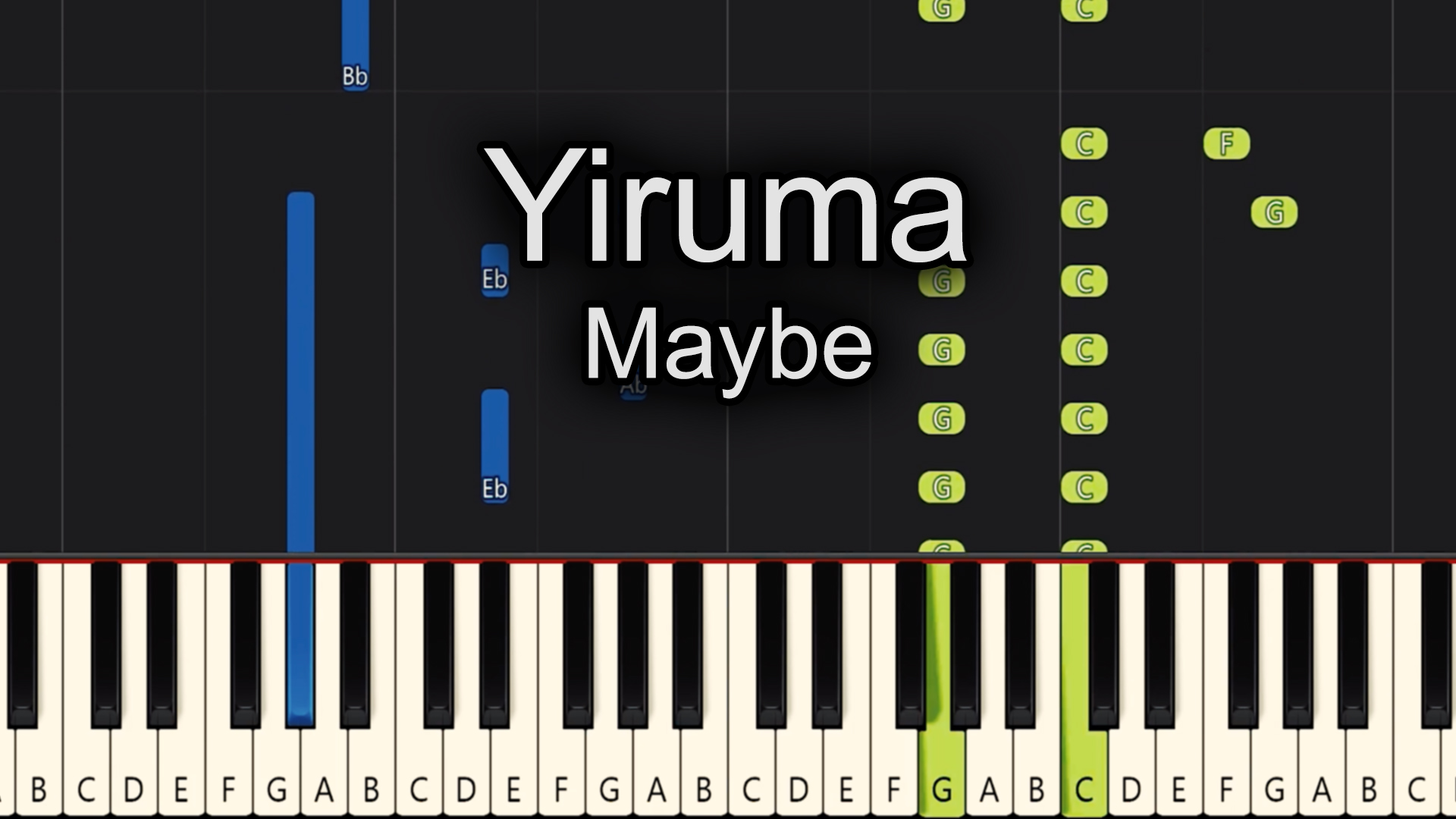 Yiruma – Maybe – Advanced