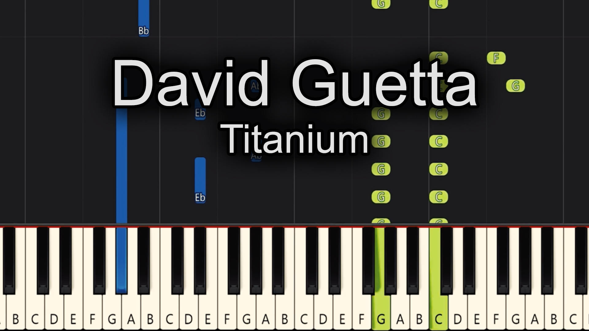 David Guetta – Titanium – Chords