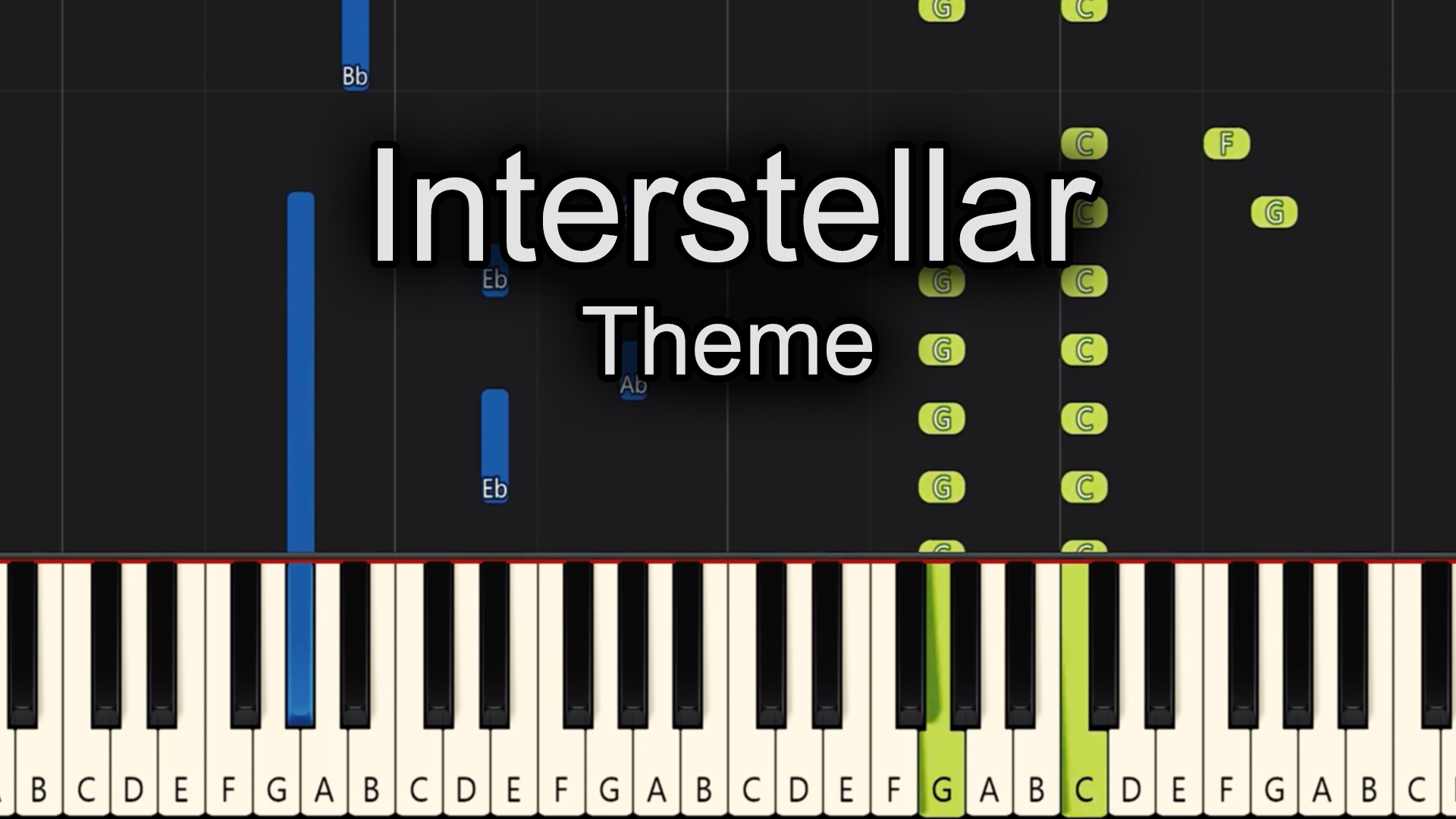 Interstellar – Theme – Medium