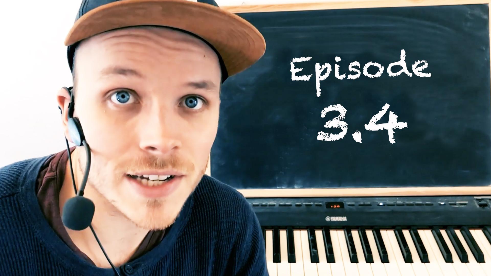 Ep 3. 4 Intermediate Piano Melodies