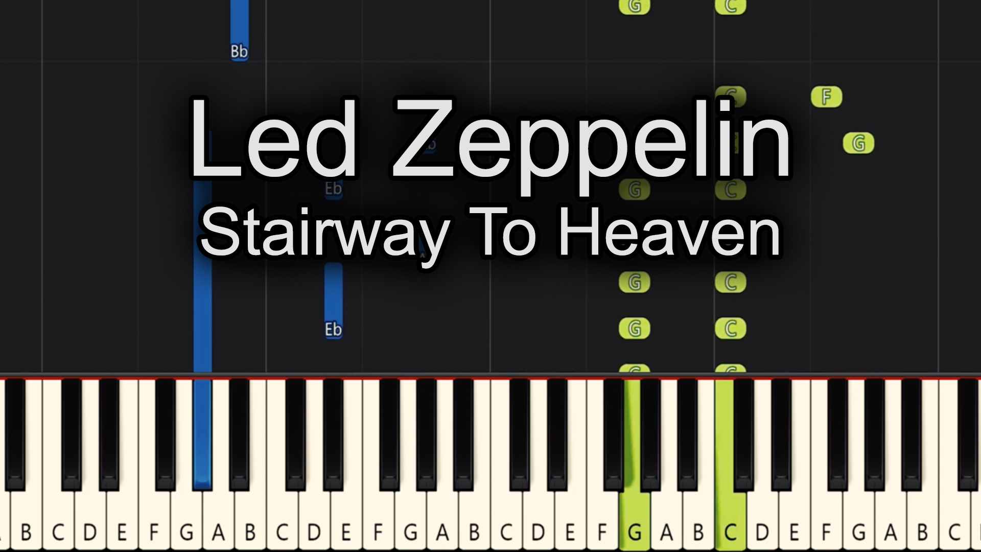 Led Zeppelin – Stairway To Heaven – Advanced