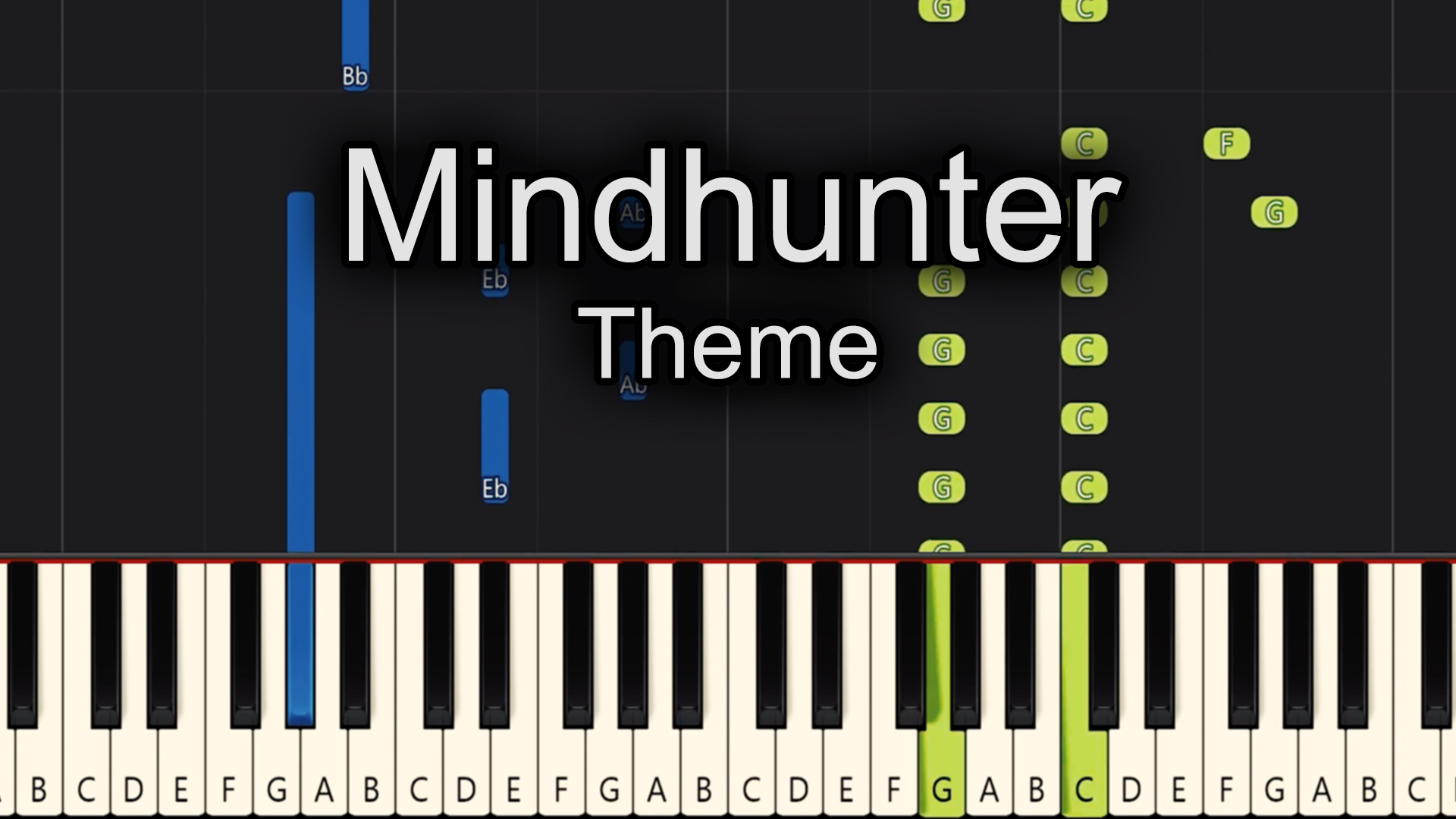 Mindhunter – Theme – Advanced