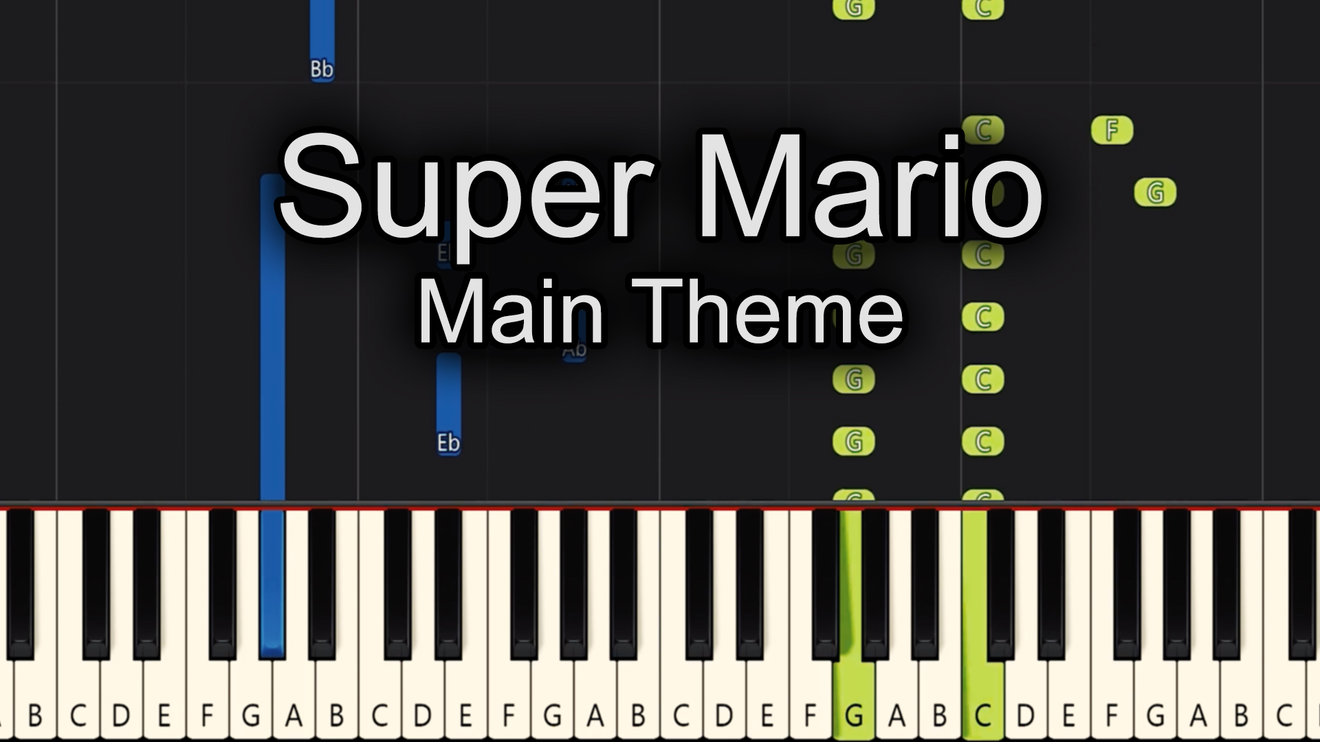Mario Bros – Main Theme – Easy