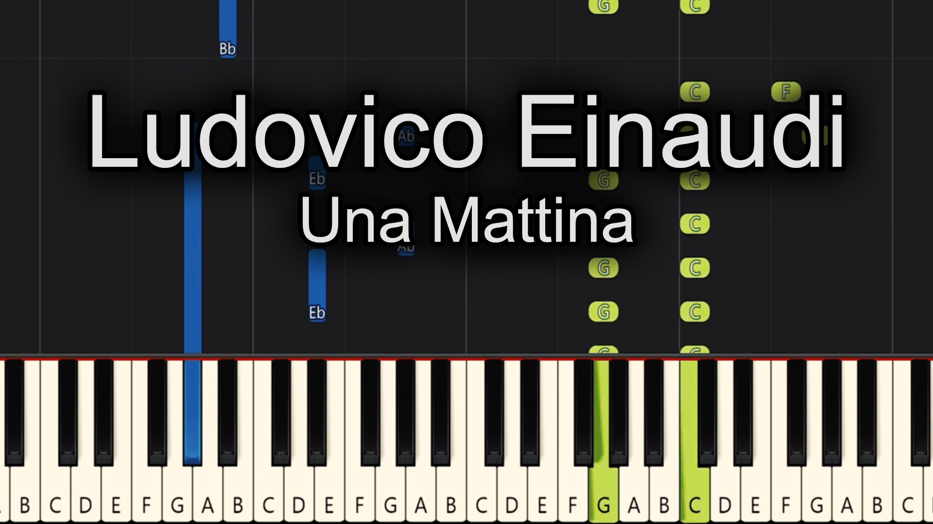 Ludovico Einaudi – Una Mattina – Advanced