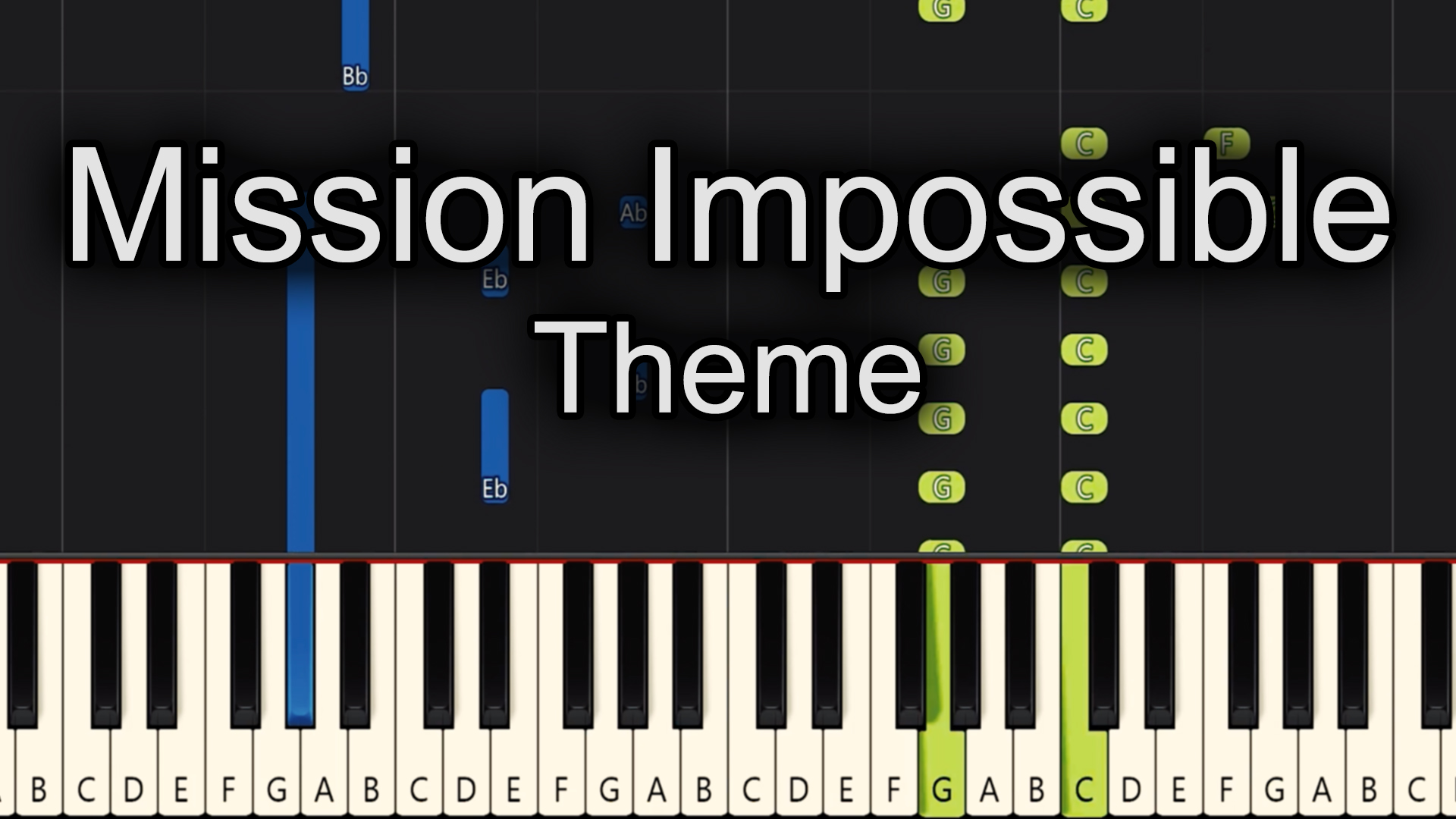 Mission Impossible – Theme – Easy