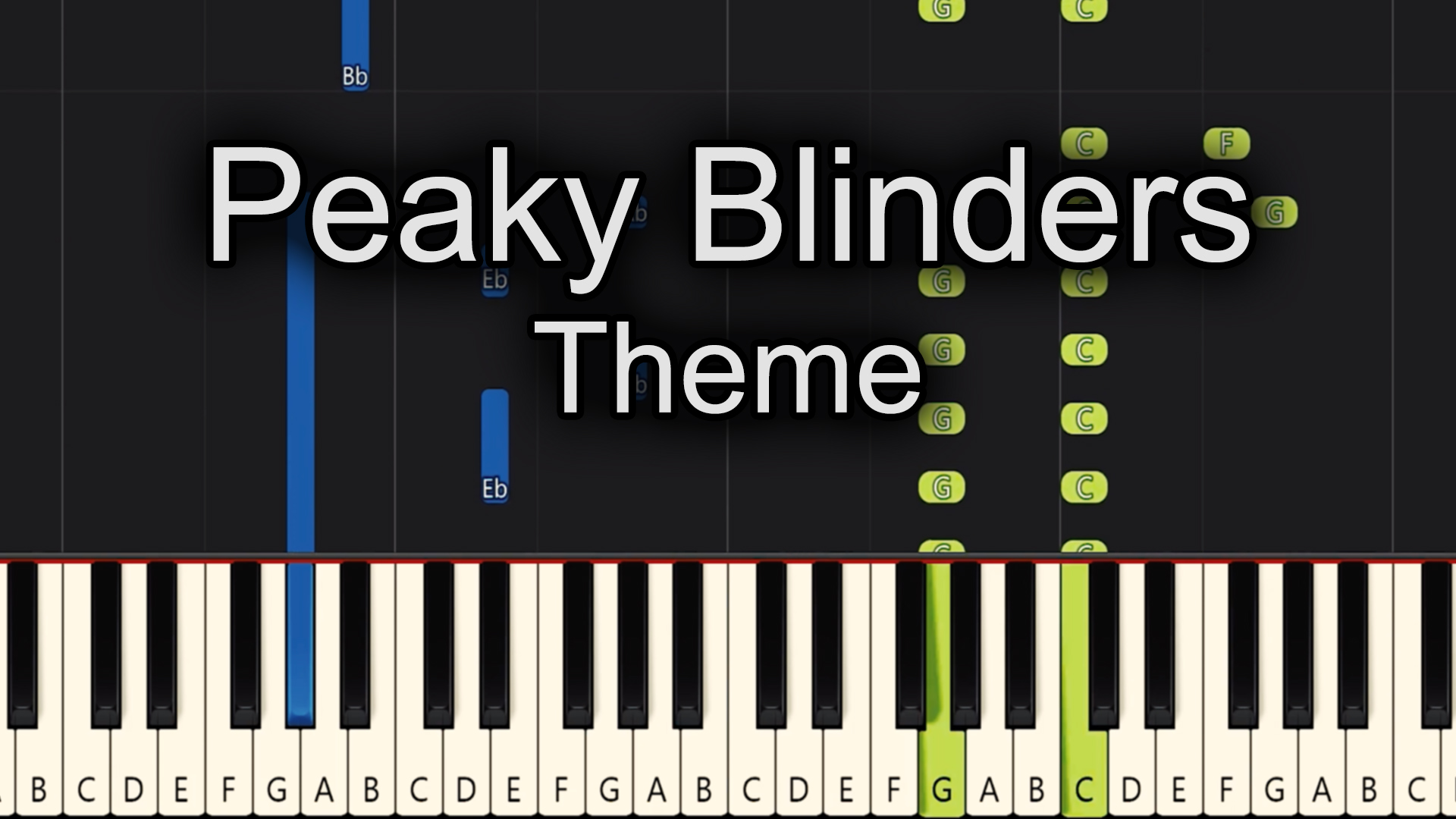 Peaky Blinders – Theme – Advanced