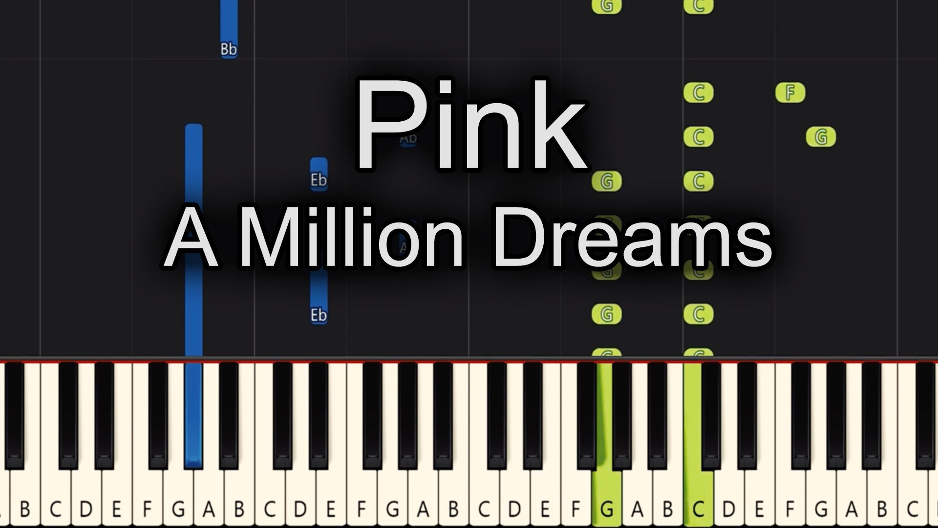 Pink – A Million Dreams – Advanced