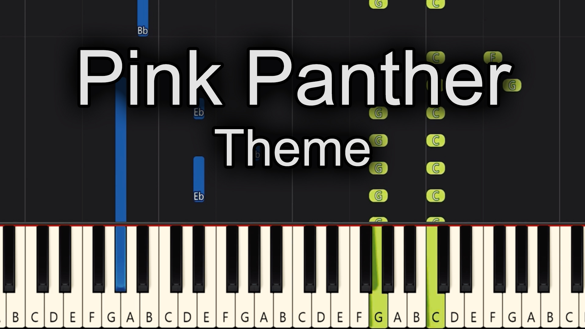 Pink Panther – Theme – Easy