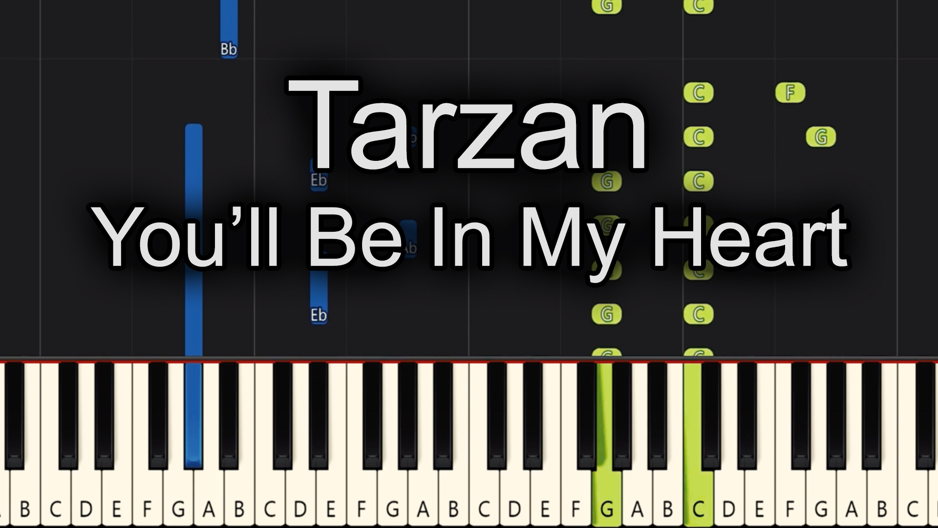 Tarzan – You'll Be In My Heart – Easy