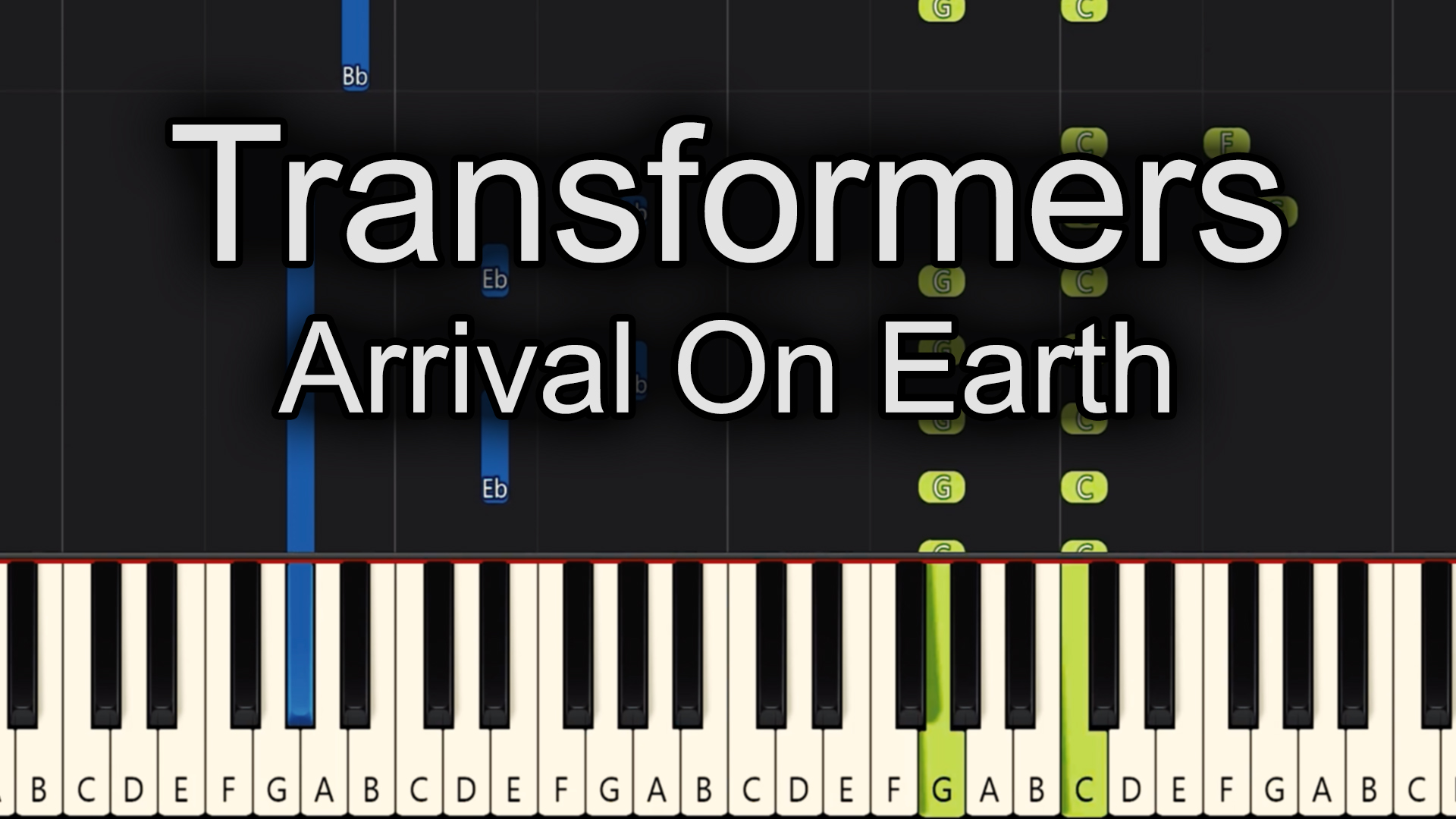 Transformers – Arrival on Earth – Advanced