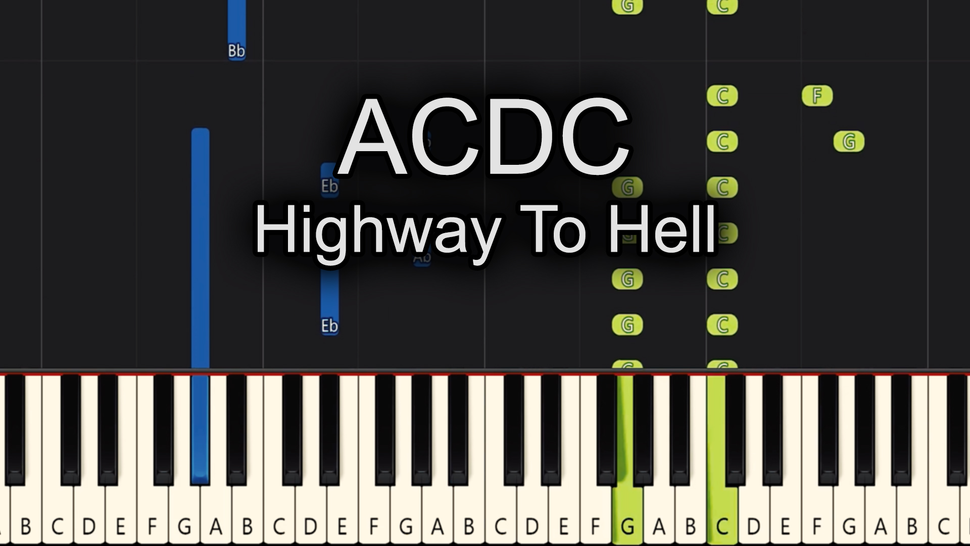 ACDC – Highway To Hell – Chords