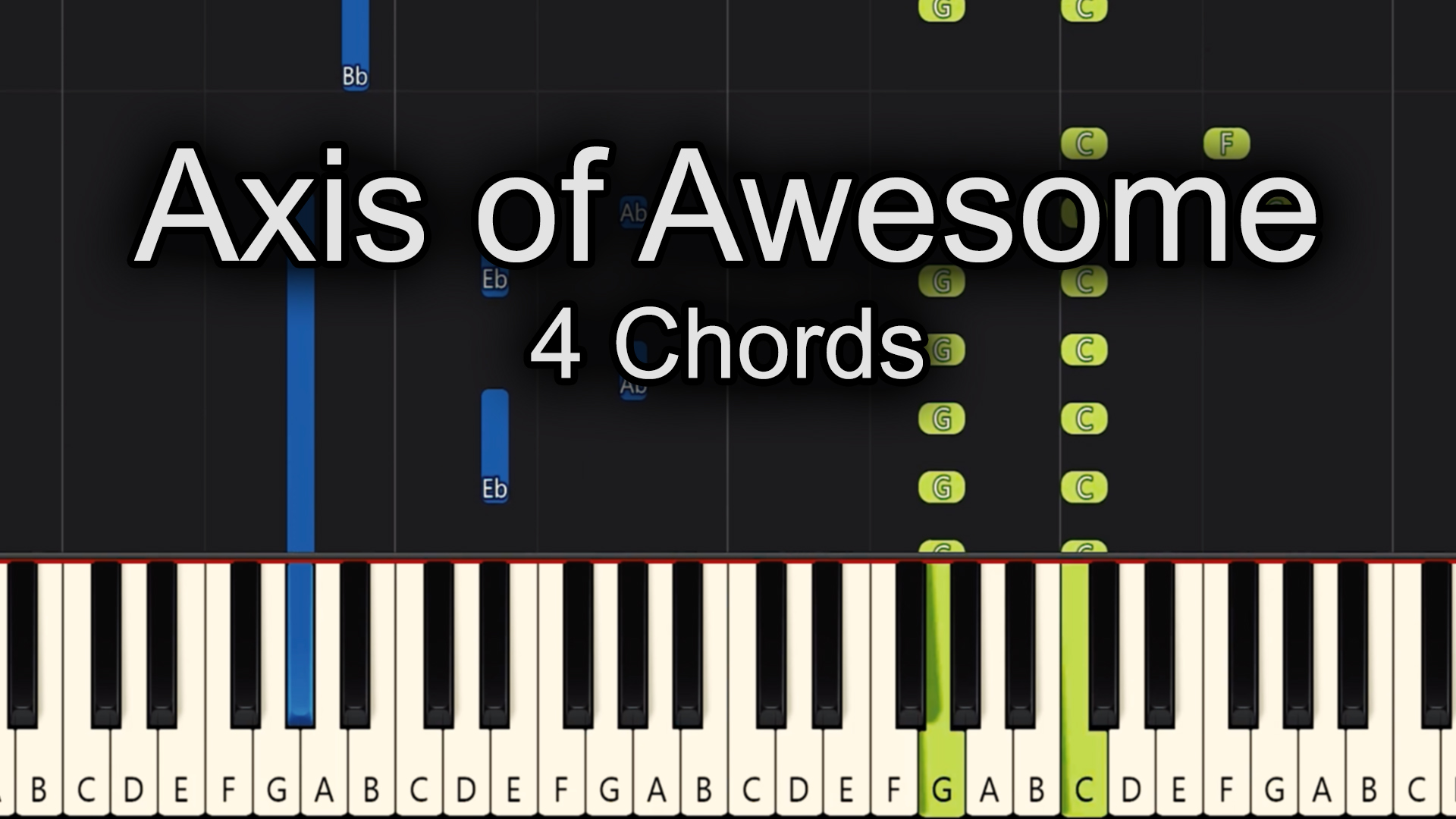 Axis of Awesome – 4 Chords – Easy
