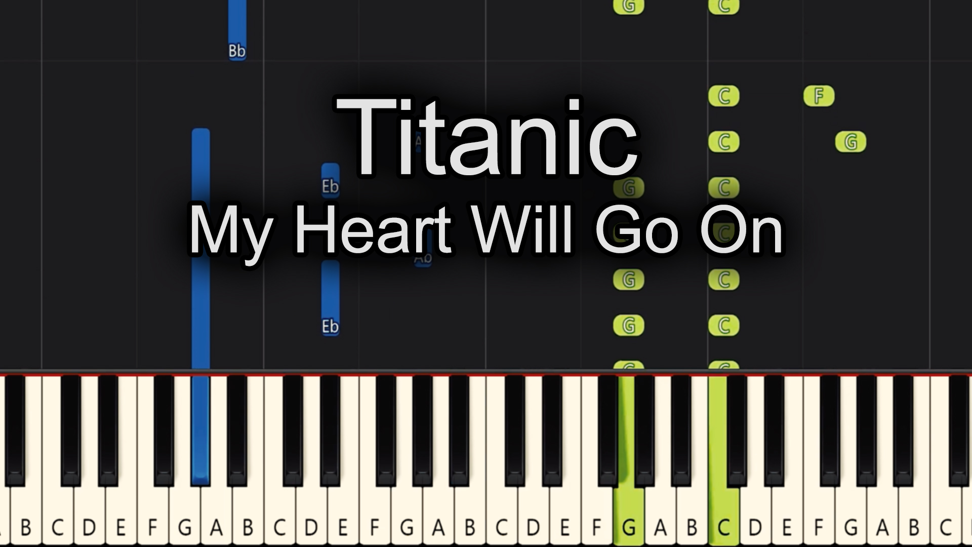 Titanic – My Heart Will Go On – Easy