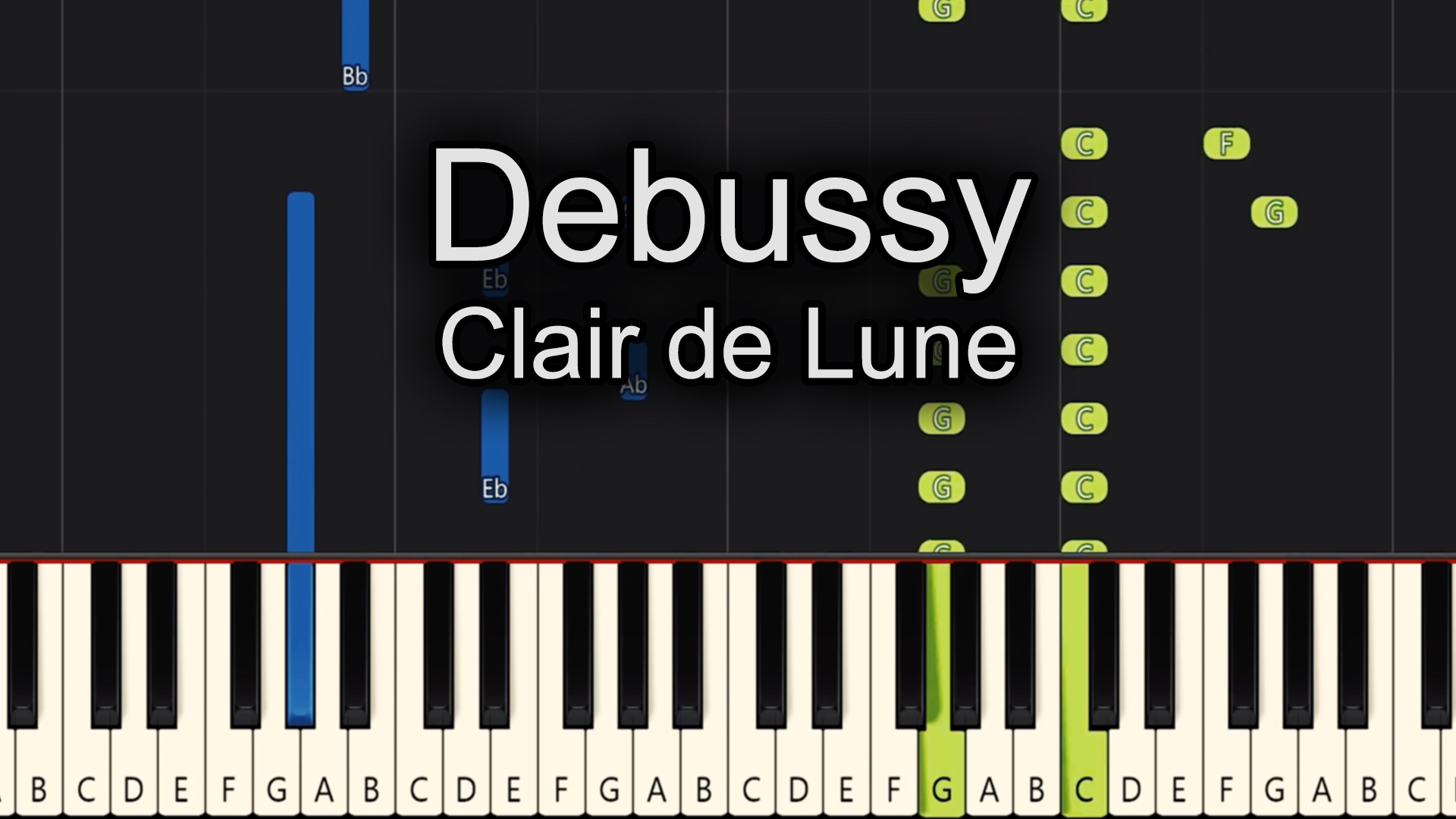 Debussy – Clair De Lune – Advanced