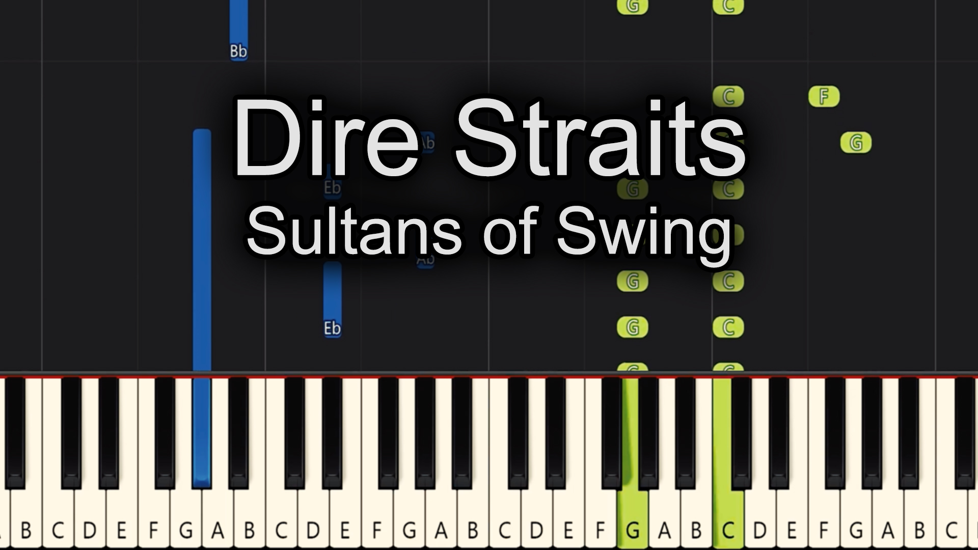 Dire Straits – Sultans of Swing – Chords