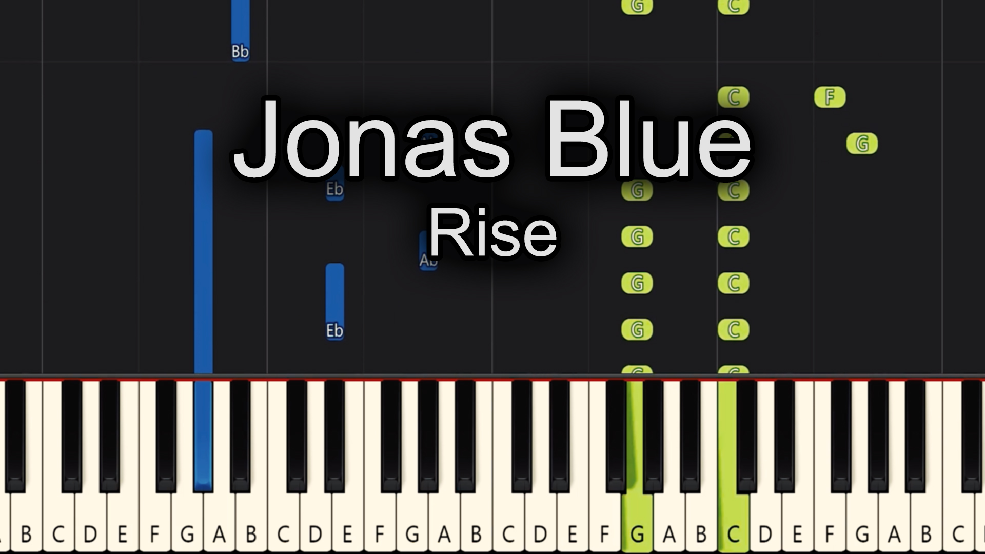 Jonas Blue – Rise – Advanced