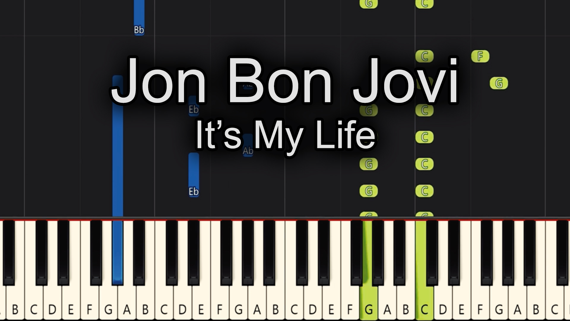 Jon Bon Jovi – It's My Life – Advanced