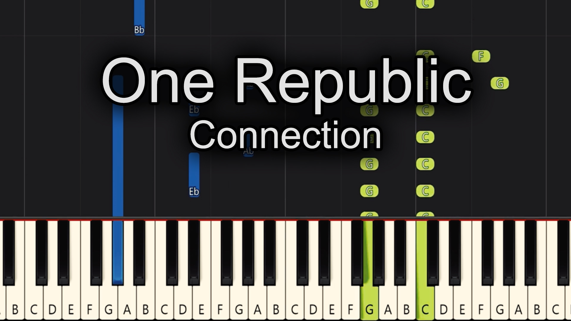 One Republic – Connection – Advanced