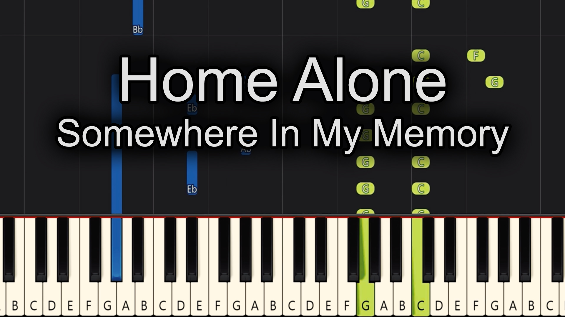 Home Alone – Somewhere In My Memory – Advanced