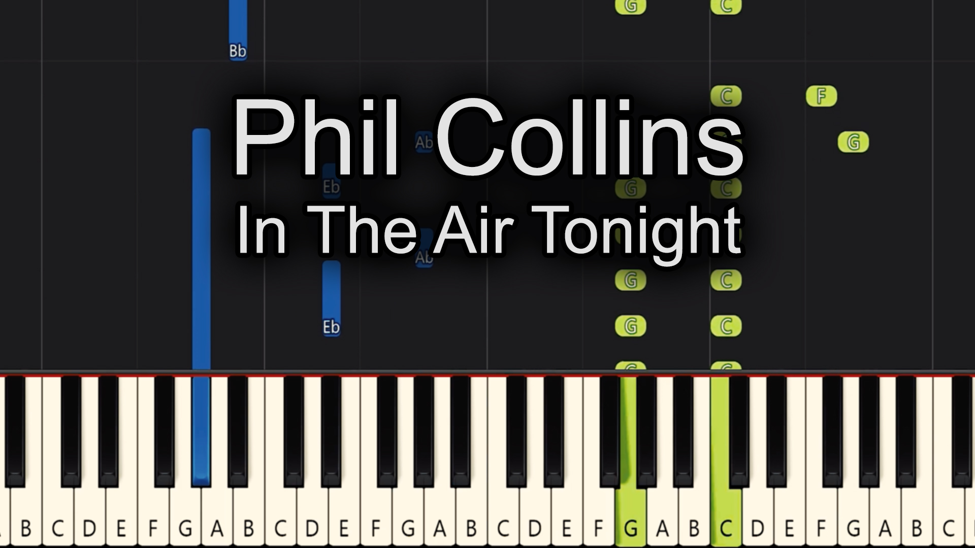 Phil Collins – In The Air Tonight – Chords