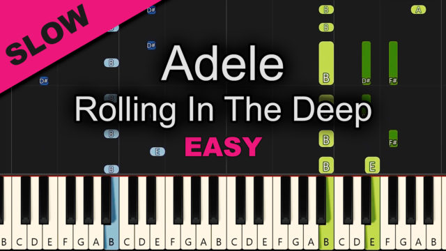 Adele – Rolling In The Deep – Easy