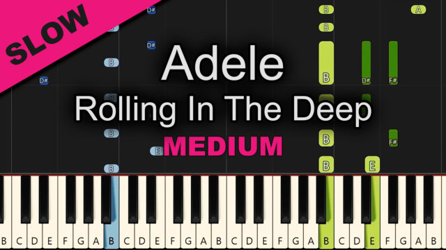 Adele – Rolling In The Deep – Medium