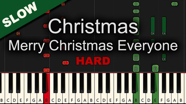 Christmas – Merry Christmas Everyone – Hard