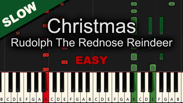Christmas – Rudolph The Rednose Reindeer – Easy