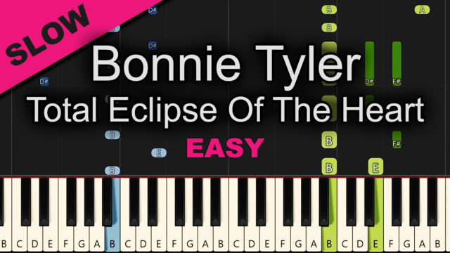 Bonnie Tyler – Total Eclipse Of The Heart – Easy