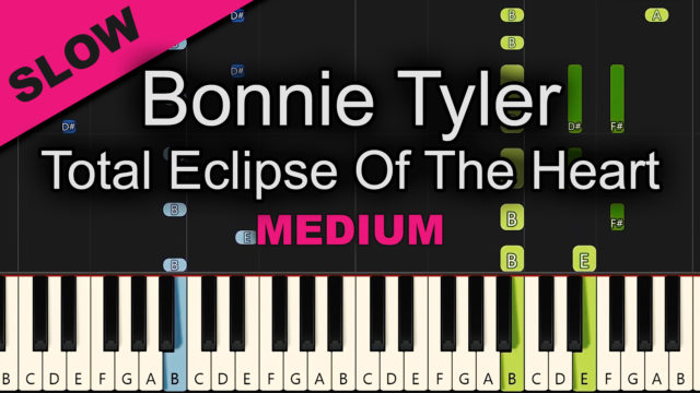Bonnie Tyler – Total Eclipse Of The Heart – Medium