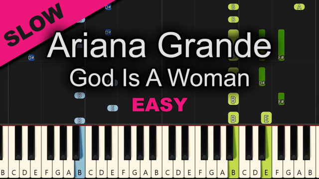 Ariana Grande – God Is A Woman – Easy