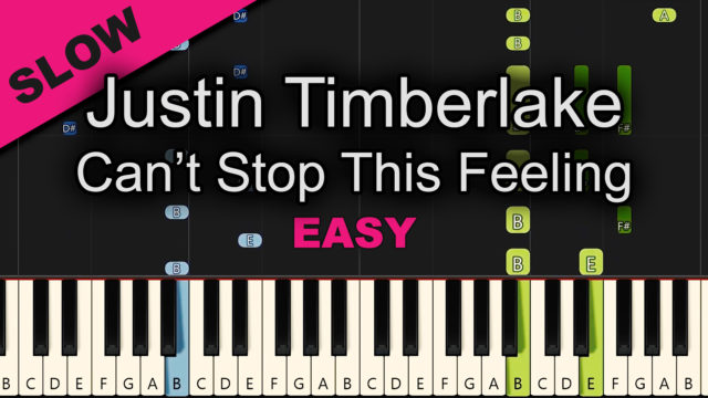Justin Timberlake – Can't Stop This Feeling – Easy