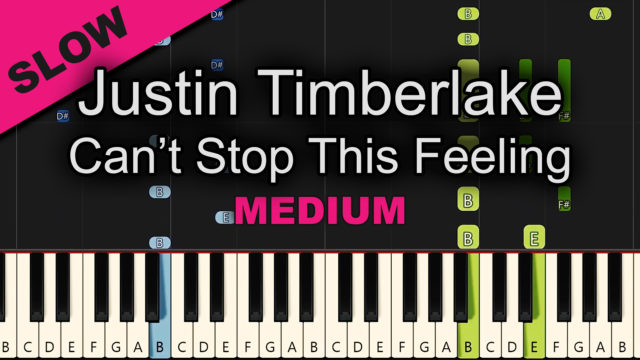 Justin Timberlake – Can't Stop This Feeling – Medium