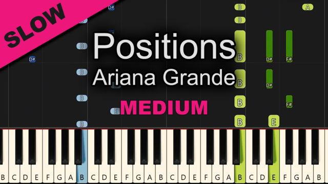 Ariana Grande – Positions – Medium