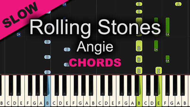 Rolling Stones – Angie – Chords