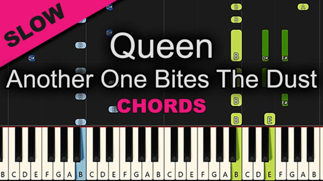 Queen – Another One Bites The Dust – Chords