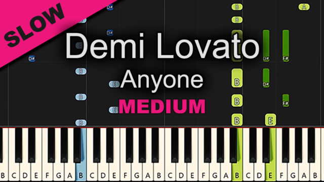 Demi Lovato – Anyone – Medium