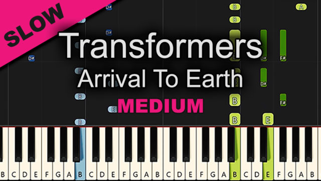 Transformers – Arrival To Earth – Medium