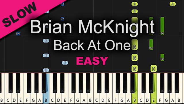 Brian McKnight – Back At One – Easy