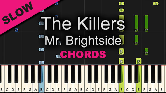 The Killers – Mr Brightside – Chords