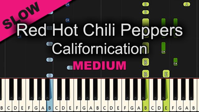 Red Hot Chili Peppers – Californication – Medium