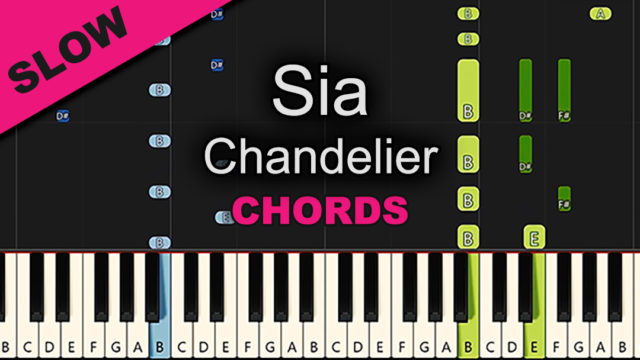 Sia – Chandelier – Chords