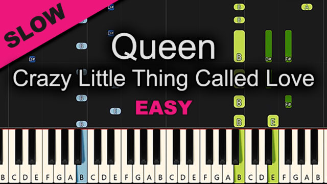 Queen – Crazy Little Thing Called Love – Easy